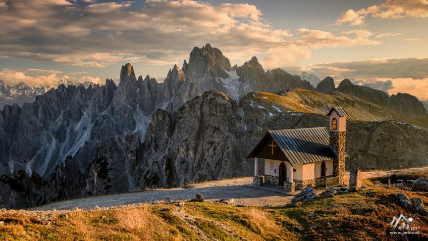 Jesenné Dolomity, 1.časť
